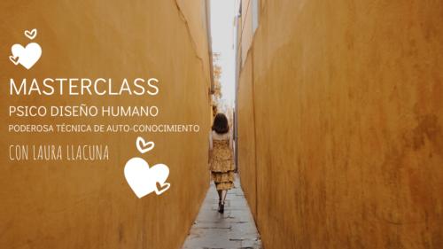 Masterclass Psico Diseño humano